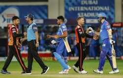 Sunrisers Hyderabad Makes Highest Score In Playoff And Team Total Of Ipl