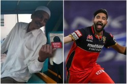 Ipl 2020 Mohammed Siraj S Hospitalized Father Gave Him Surprise After His Magical Spell