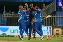 Dc Vs Kkr Dream 11 Ipl 2020 Delhi Capitals Won Last Over Thriller Beats Kolkata By 18 Runs