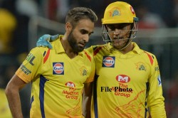 Ipl 2020 Csk Imran Tahir Not Sad To Out From Playing Eleven