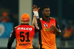 Ipl 2020 Jason Holder Makes His Dream Debut For Srh After 4 Years Took 3 Wickets