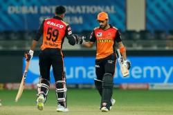 Ipl 2020 Manish Pandey Vijay Shankar 50s Lead Srh 8 Wickets Victory In Do Or Die Match Against Rajas
