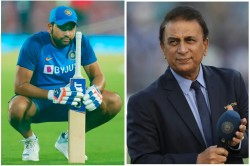 Sunil Gavaskar Says Rohit Sharma Fitness Is Good News It Is Right Time To Subside Controversy
