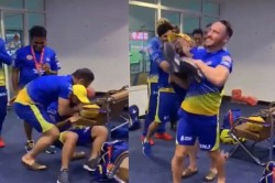 Ipl 2020 Dhoni And Du Plessis Have Fun Video Viral On Social Media