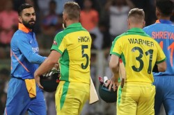 Australia Vs India Aaron Finch Warns His Team On Sledging Says Dont Even Think To Sledge Virat Kohli