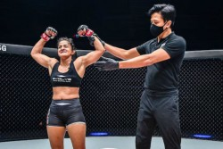 Wrestler Ritu Phogat S Mixed Marshal Arts Date Released For One Inside The Matrix
