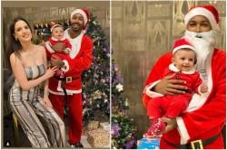 Hardik Pandya Celebrates Christmas With Wife Natasa Stankovic And Son Agasthya