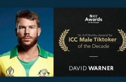 David Warner Gives Himself Icc Male Tiktoker Of The Decade Award In Funny Way