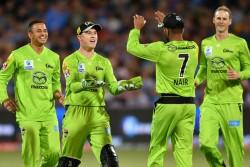 Big Bash League 2020 Sydney Thunders Created History Won By 129 Runs Second Big In T20 Cricket