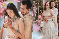 Yuzvendra Chahal And Wife Dhanashree Romantic Style Lara Gave Wishes All The Best