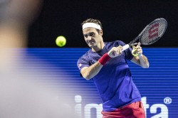 Roger Federer Returns In Action With A Victory After 13 Month