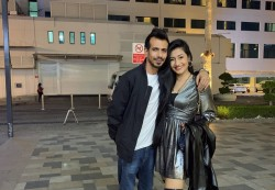 Happy New Year 2021 Yuzvendra Chahal Post Photo With His Wife Dhanashree Verma
