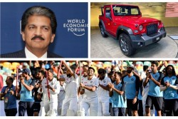 Mahindra Auto Announces To Gift New Mahindra Suv Thar To 6 Indian Players Who Played Well Austrlia