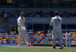 Ind Vs Aus Gabba Test Day 1 Mark Waugh Shane Warne Pointed Out Rishabh Pant Banter Behind Wickets
