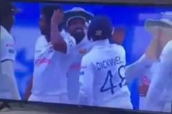 Sri Lankan Wicket Keeper Slaps Teammate Sehwag Turns Around