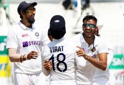 Ind Vs Eng Virat Kohli Sudden Entry In Axar Patel Interview With Hardik Pandya Watch
