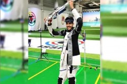 Issf Shooting World Cup Aishwary Pratap Singh Tomar Wins Gold Medal In Men S 50m Rifle