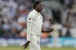 Jofra Archer Bowled On India Tour Despite A Mall Fragment Of Glass In His Finger