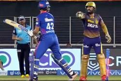 Ipl 2021 Shikhar Dhawan Dinesh Karthik Viral Video Of Fighting Like Child During Match
