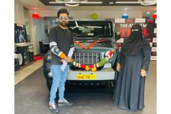 Mohammed Siraj Received Mahindra S New Suv Thar After T Natarajan Shardul Thakur Says Thank You