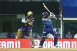 Mi Vs Kkr Rohit Sharma Missed Out On Half Century But Surpassed Warner And Dhawan