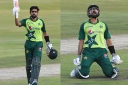 South Africa Vs Pakistan 3rd T20i Babar Azam Slams 49 Balls Century Creates Biggest T20i Record