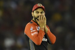 Ipl 2021 Virat Kohli Says I Thought Its Getting Away Thanks To Sandstorm