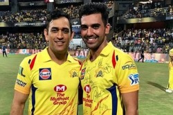 Deepak Chahar Said My Dream Is Also Fulfilled Due To Ms Dhoni