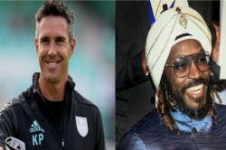 Chris Gayle Trolls Kevin Peitersen For His Shirtless Abs Flaunting Picture