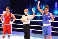 Asian Boxing Championships Pooja Rani Clinches Gold Medal 2nd Time Consecutively Defeated Mavluda