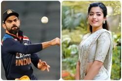 Famous Actress Rashmika Mandanna Said I Am Not A Fan Of Kohli Ms Dhoni Is My Hero