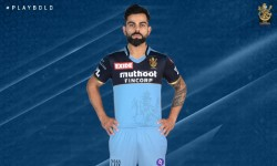 Rcb Team To Play In New Blue Jersey To Support Health Care Infrastructure