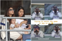 Wtc Final Ritika Asked On Rohit Sharma S Photo With Telescopic Are You Spying On Us