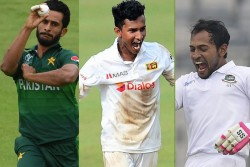 Icc Nominates Hasan Ali Praveen Jaivikrama Mushfiqur Rahim For Men S Player Of The Month Award