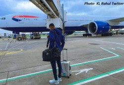 India In England 2021 Indian Men S And Women S Cricket Team Arrives In London