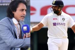 Former Pakistan Captain Ramiz Raja Claims Rohit Sharma Will Hit Double Century In Wtc Finals