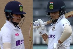 England Women Vs India Women Only Test Shafali Verma Slams Another Fifty Bags Huge Record At Bristol