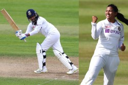 England Women Vs India Women Only Test Sneh Rana Slams Maiden 50 Makes Dream Debut With Huge Record