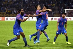 Fifa Wc And 2023 Afc Asian Cup Qualifiers Sunil Chhetri Surpasses Lionel Messi India Beat Bangladesh