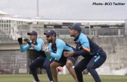Bcci Shares Team India First Practice Session Ahead Of Wtc Final