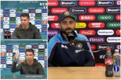 Virat Kohli Could Not Remove Coka Cola Like Ronaldo In The Press Conference Fans Were Disappointed