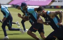 India In England 2021 Team India S First Practice Session Video In Durham