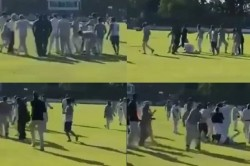 After A Massive Fight Breaks Out Charity Cricket Match At Mote Park Gets Abandoned