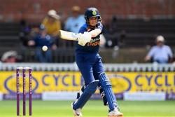 England Women India Women Shafali Verma Took Revenge Against Katherine Brunt Smashes 5 Fours In Runs