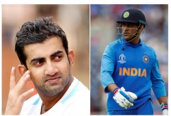 Gautam Gambhir Changes His Fb Cover Photo On Dhoni S Birthday Fans Raise Questions On Timing