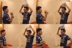 India Vs Sri Lanka Yuzvendra Chahal Kuldeep Yadav Played Dumb Charades Says Overacting Karte Hi