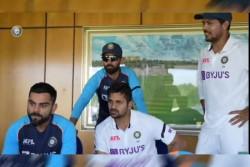 India Vs Sri Lanka Watch Video Of Virat Kohli And Company Cheering Team India Against Sri Lanka