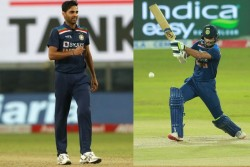 India Vs Sri Lanka Shikhar Dhawan Breaks Virat Kohli Huge Record As Bhuvneshwar Completes 50 Wickets