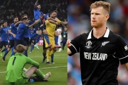 Jimmy Neesham Takes Dig On Icc Boundry Count Rule After England Lost Euro 2020 Championship Final