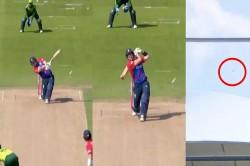 England Vs Pakistan T20 Liam Livingstone Hit Huge Six Video Viral On Social Media
